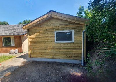 Opbygning af ny garage og værksted